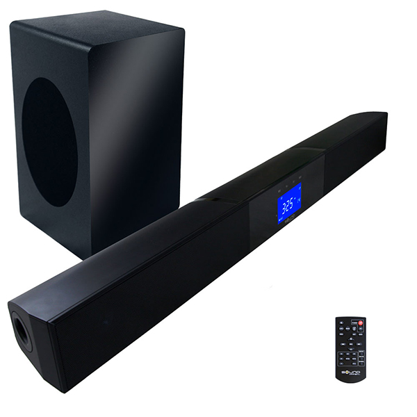 The best soundbar with wireless subwoofer 2015 for Best buy yamaha sound bar