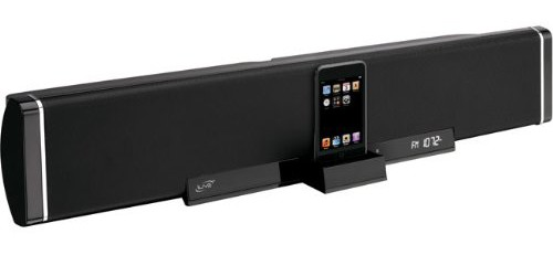 Ilive 2 1 Channel Speaker Bar With Ipod Dock
