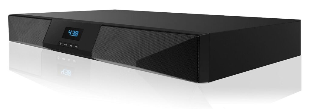 SHARPER IMAGE SBT2015BK 2.1CH Bluetooth Sound Bar